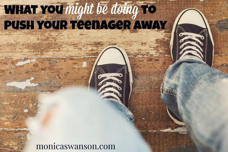 Pushing teenagers away