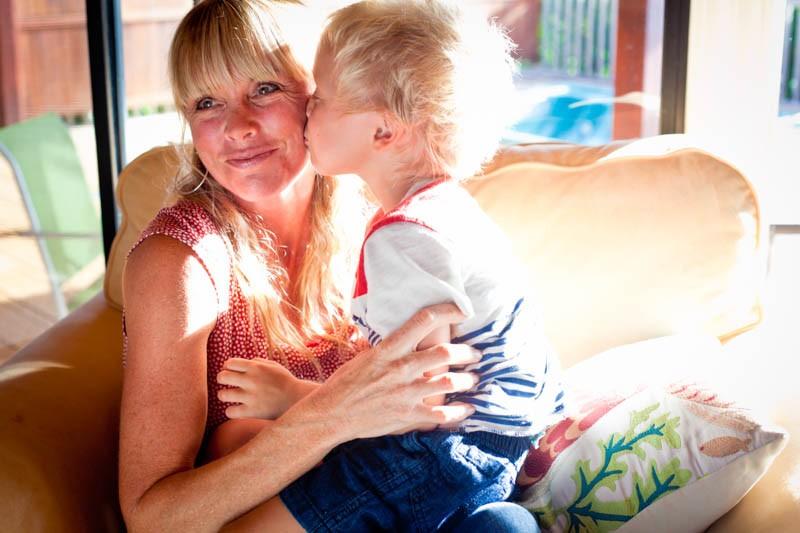 Levi kisses