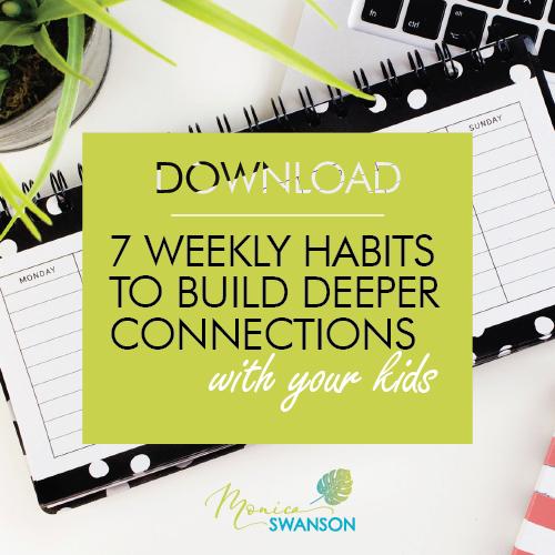 7 Weekly Habits
