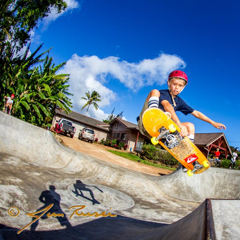 Luke Swanson skate