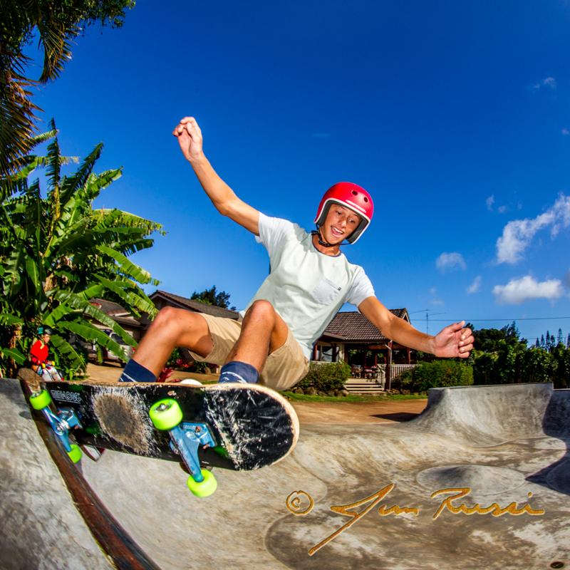 Josiah skate bowl