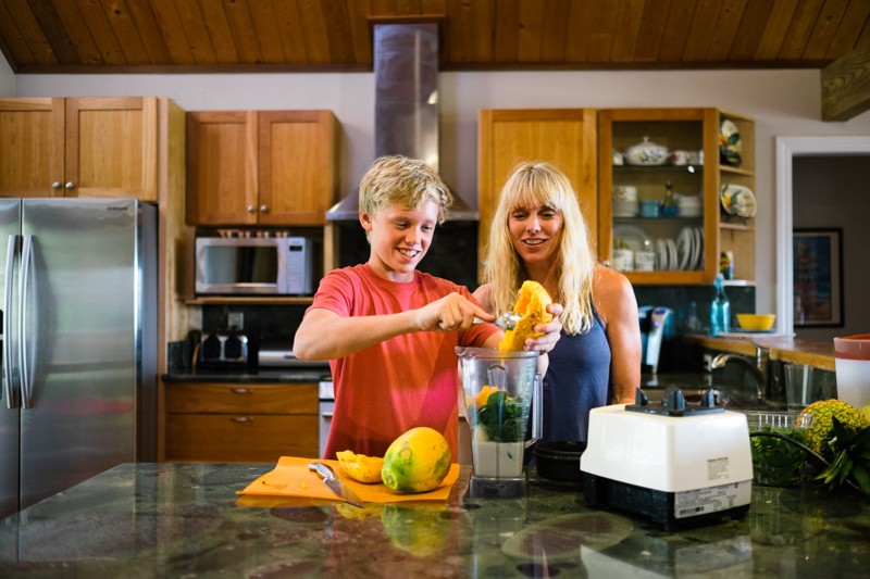 Homeschool smoothies