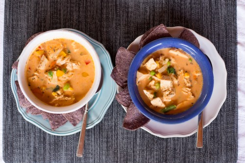 Thai Peanut Chicken Coconut Soup