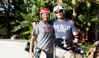 Dave and Lance skate dudes