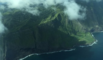 View from Mokulele Airlines
