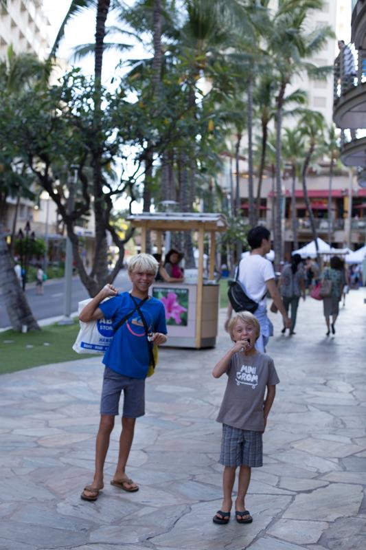Luke and Levi Waikiki