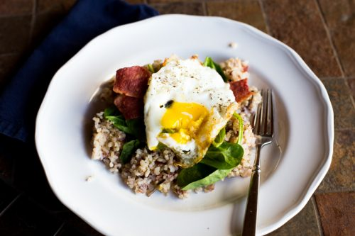 Hawaiian Loco Moco Breakfast:  The legend, the love…and a lighter version.