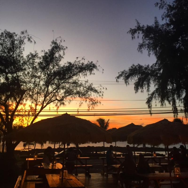 North Shore food trucks/ sunset