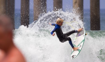 Luke Swanson surf Huntington Beach