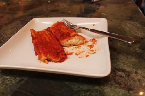 Lighter Manicotti–Two Ways