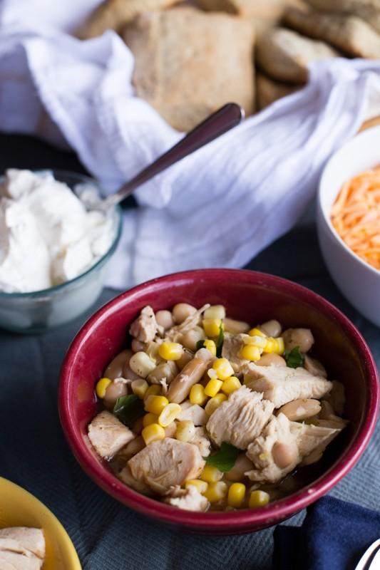 monicaswanson, white bean chicken chili