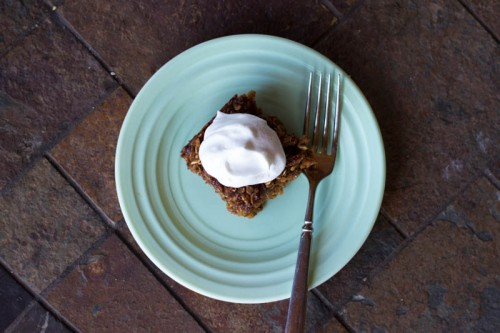 Baked Gingerbread Oatmeal, Two ways.  {Gluten-free}