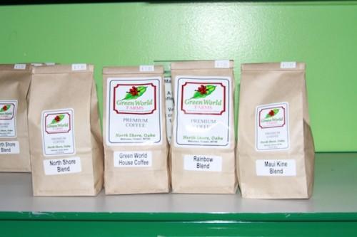 Green World Farms:  Hawaiian Coffee + Giveaway!