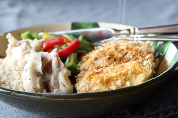 Coconut Macadamia Crusted Mahi Mahi {Gluten Free or regular} - Monica ...
