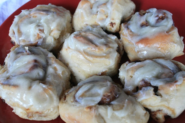Cinnamon rolls, quick-rise, and simple to make!