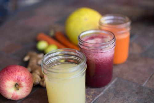 Winter Juicing.  Hot Ginger Tonic {and more.}