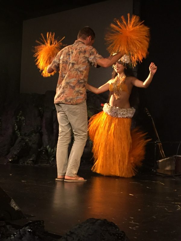 Dave Polynesian dance