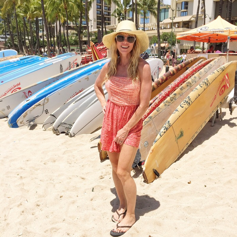 Monica Beach sheraton