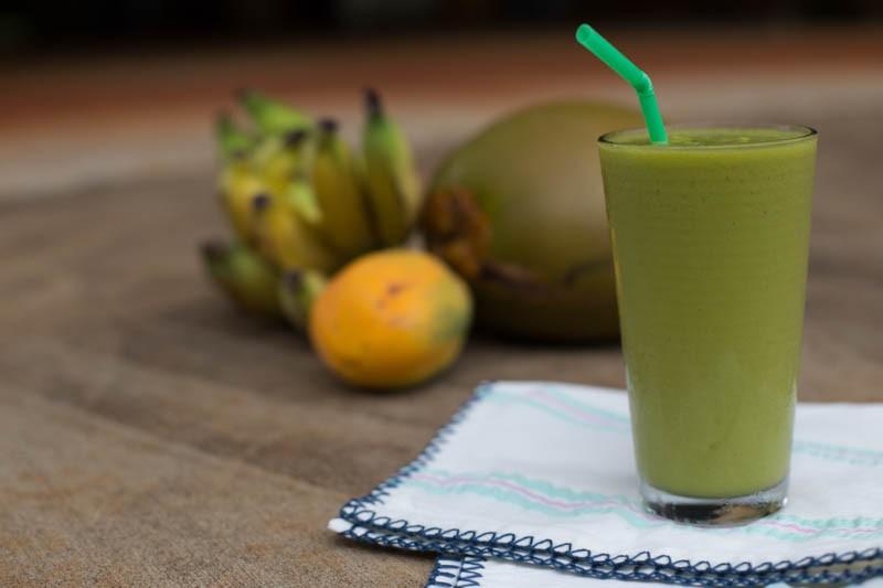 tropicalgreen smoothie