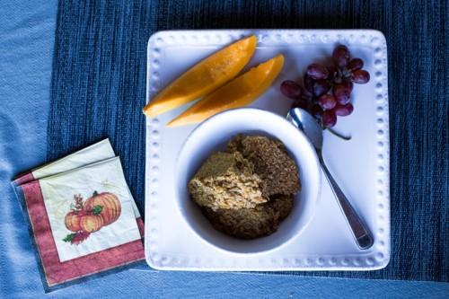 Baked Pumpkin Oatmeal  {The Perfect Fall Breakfast}