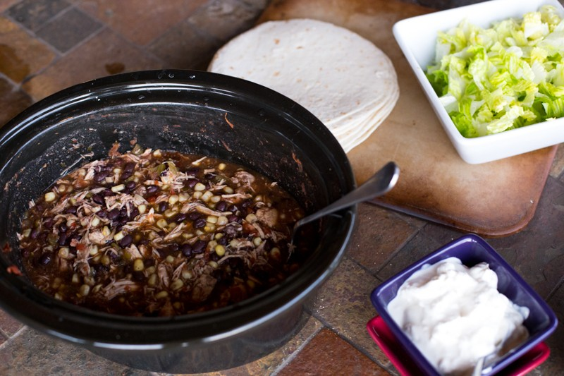 crockpot burritos