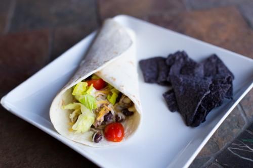 Easy Crockpot Burrito Bar