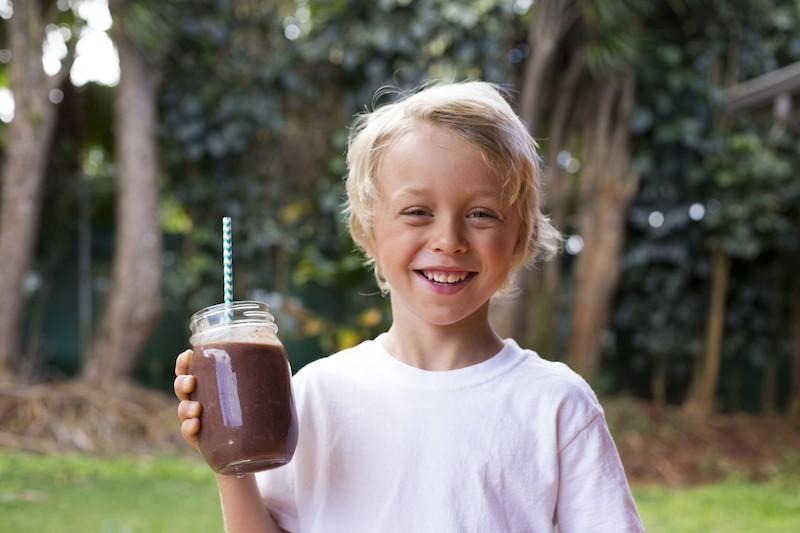 Levi acai smoothie