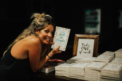 And Still She Laughs:  Kate Merrick's book release (and a giveaway!)
