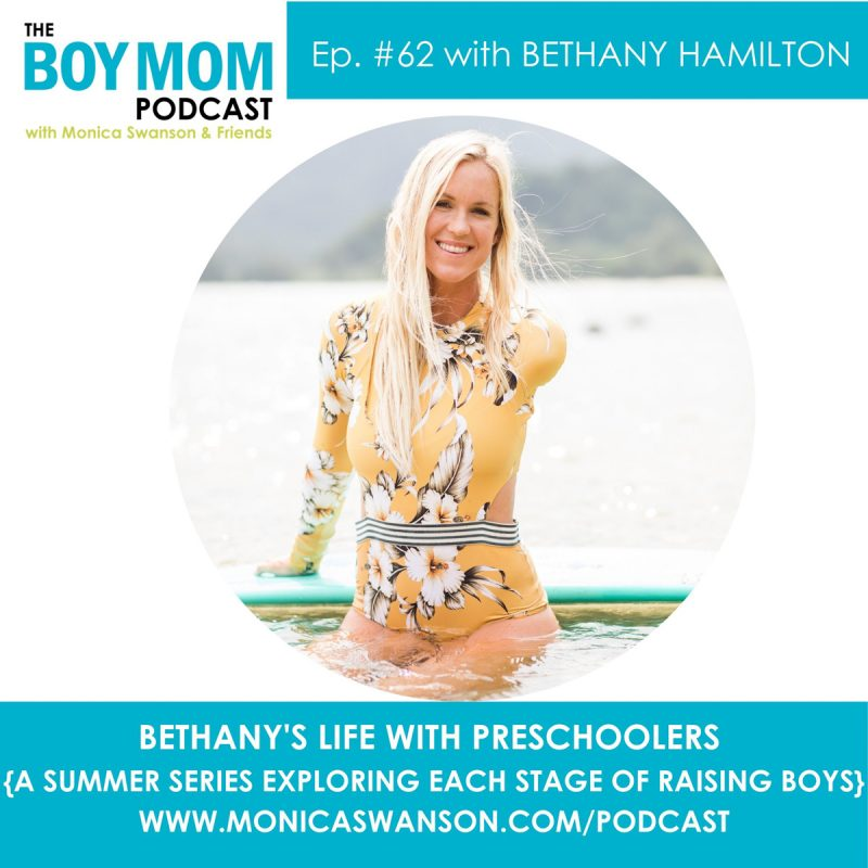 Bethany Hamilton, on Life with Preschoolers {Episode 62}