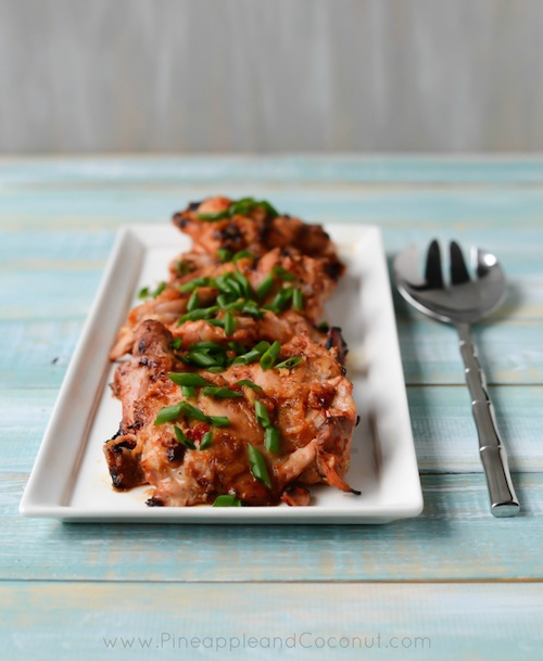 Sweet Hot Thai Style Grilled Chicken Thighs-198