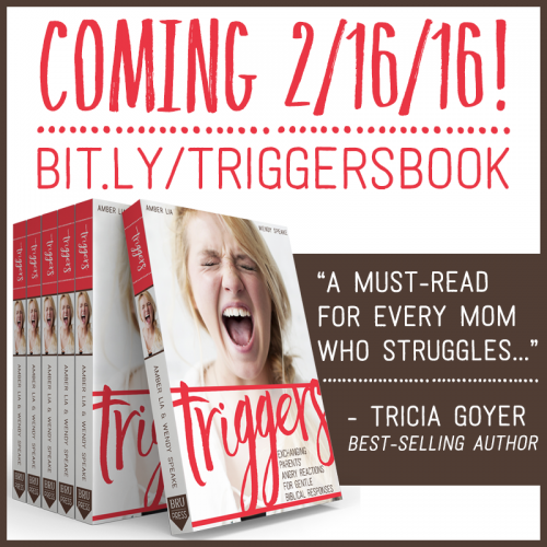 Anger in Parenting, and TRIGGERS:  The Book I Wish I had Ten Years Ago