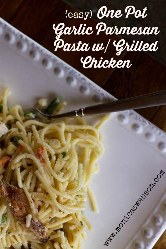 garlic parm pasta