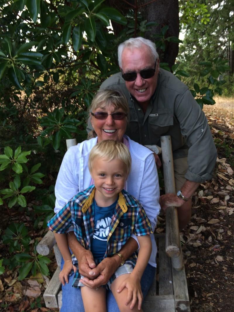 grandparents w/ Levi
