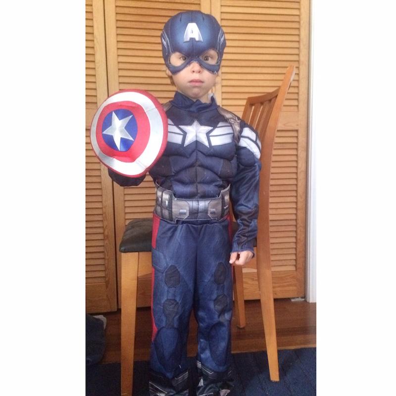 Levi Captain America