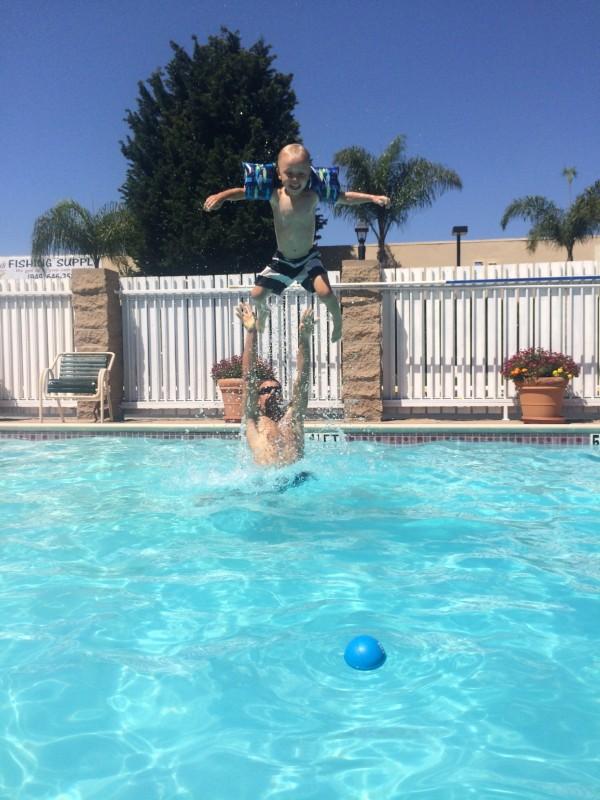 Levi pool time