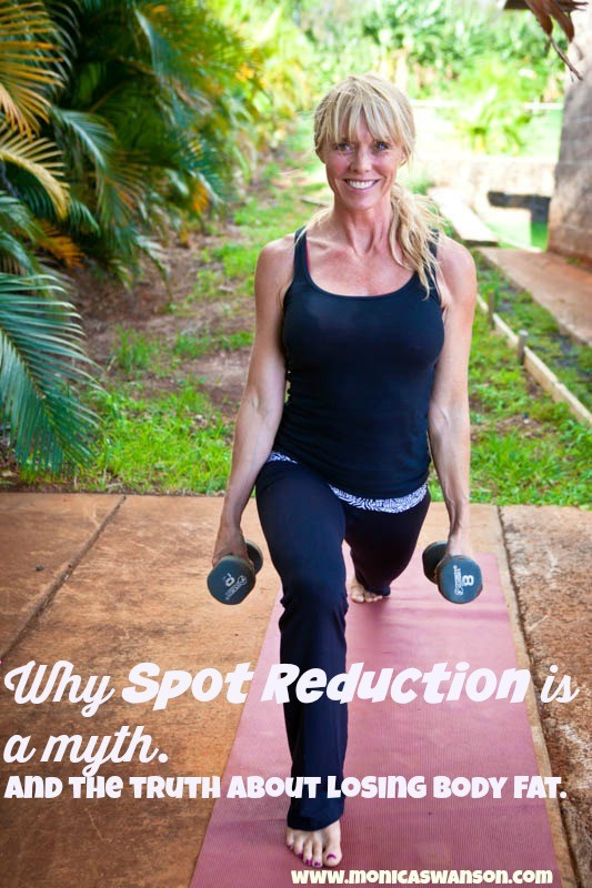 spot reduction is a myth